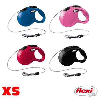 【飛萊希】flexi 進化系列 伸縮牽繩 索狀XS號
