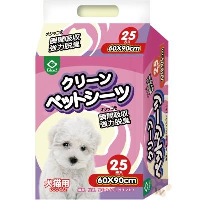 快樂狗  抗菌強力吸收尿布《25片入》