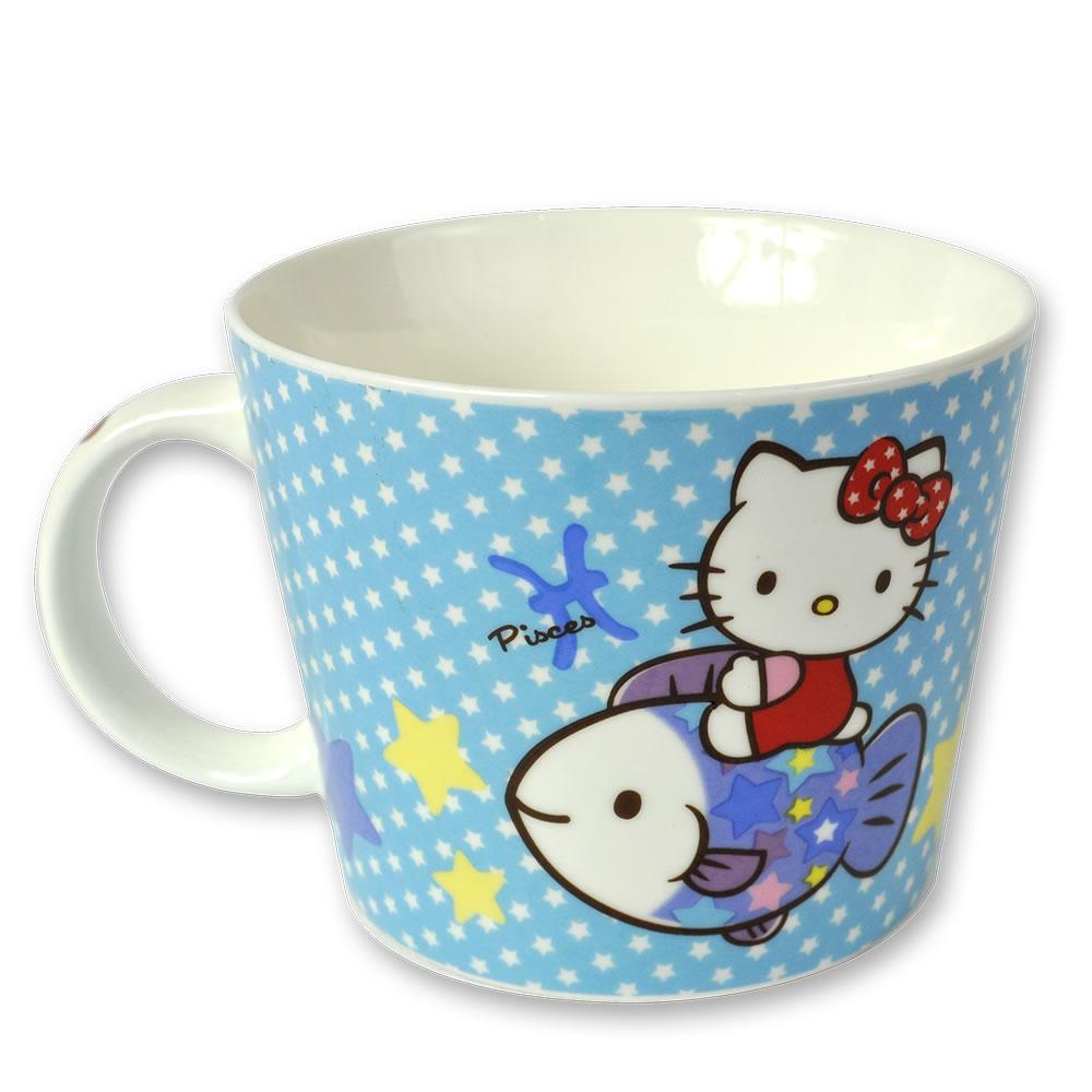 三麗鷗Hello Kitty星座馬克杯-雙魚座