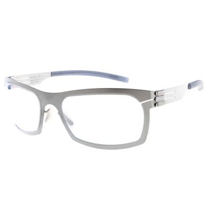 ic!berlin眼鏡 薄鋼代表作/銀#URBAN CHROME
