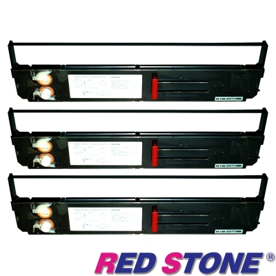 RED STONE for PRINTEC PR836/OKI393黑色色帶組(1組3入)
