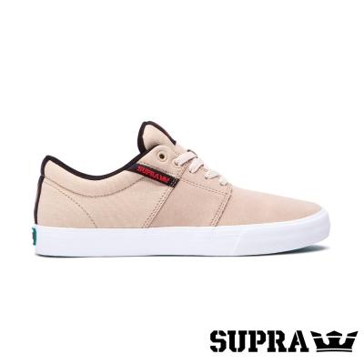 SUPRA Stacks Vulc II系列男鞋-卡其/白