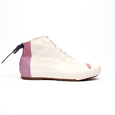 Royal Elastics London HI藕粉英倫風帆布休閒鞋(女)