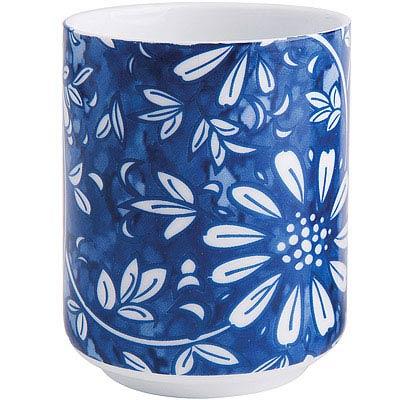 EXCELSA Oriented瓷茶杯(花卉藍150ml)