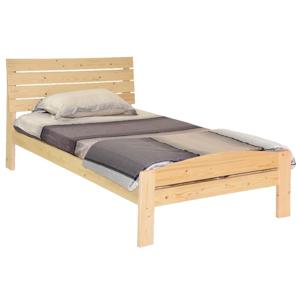 雲杉單人床架 實木 床組