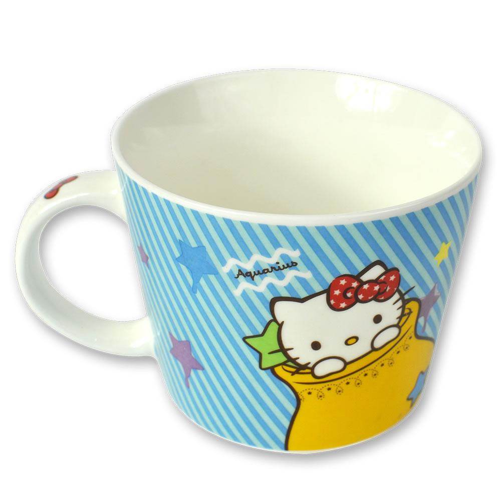 三麗鷗Hello Kitty星座馬克杯-水瓶座
