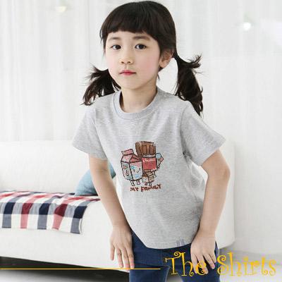 【The Shirts】牛奶家族短袖T恤 (共二色)