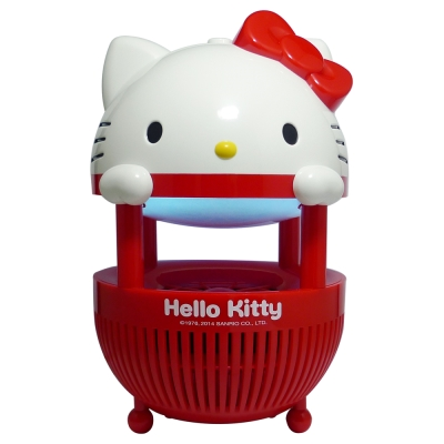 HELLO KITTY誘蚊專家光觸媒捕蚊燈 CM-863KT-R