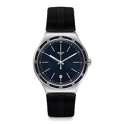 Swatch 金屬系列 CAMARADE 堅若磐石手錶
