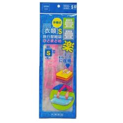 【創意達人】手捲式衣物/旅行壓縮袋(S)12入
