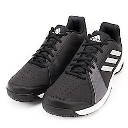 ADIDAS-男網球訓練鞋BY1602-黑