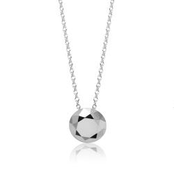 Tiffany&Co. Elsa Peretti 美鑽造型純銀項鍊