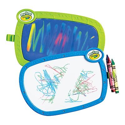 美國 Crayola繪兒樂 幼兒雙面塗鴉畫板(24M+)