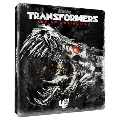 變形金剛4 Transformers: Age of Extinctio(鐵盒版)藍光BD