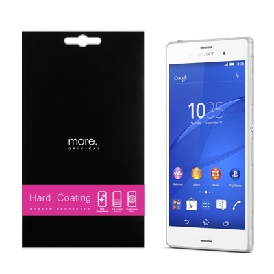 more. Sony Z3  HC易貼高清抗指紋螢幕保護貼