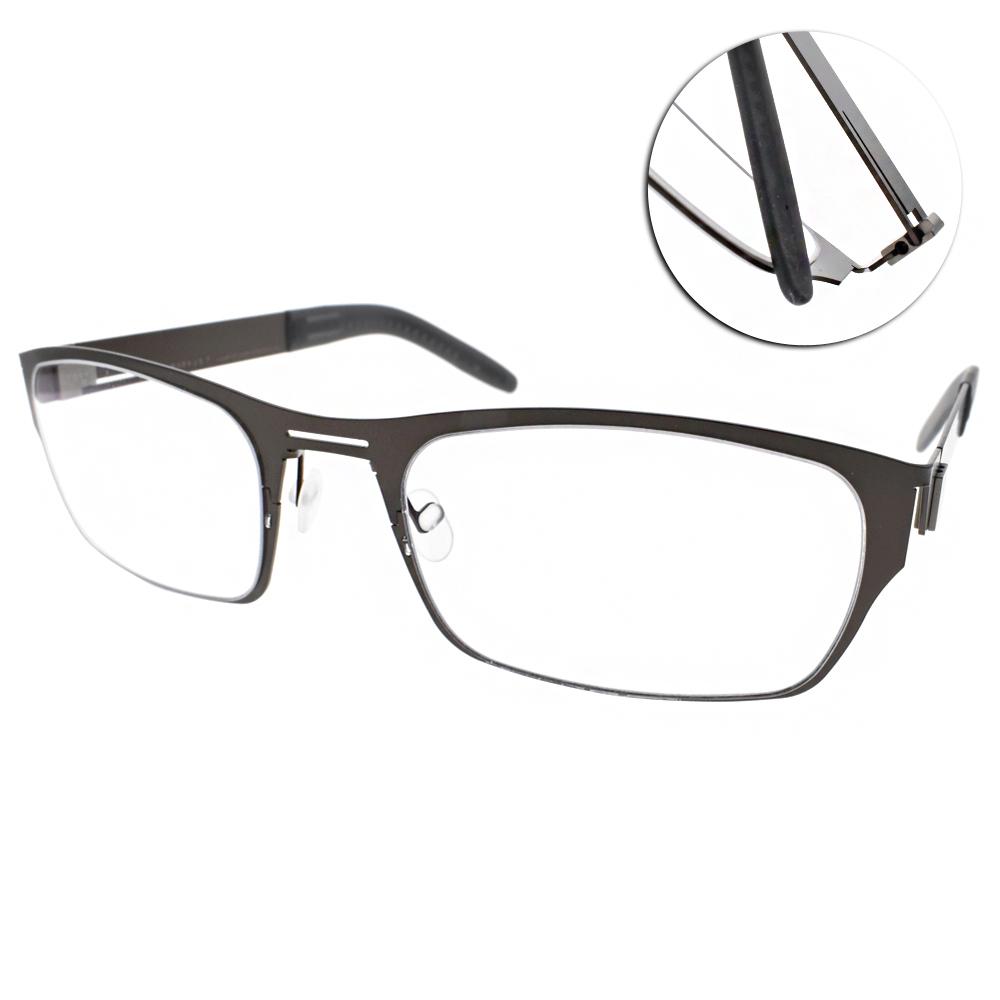 MARKUS T眼鏡 無螺絲眼鏡結構/棕#T2 210 118-118