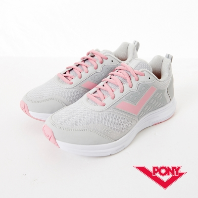 PONY 女_Power Run系列_動能機能慢跑鞋_白
