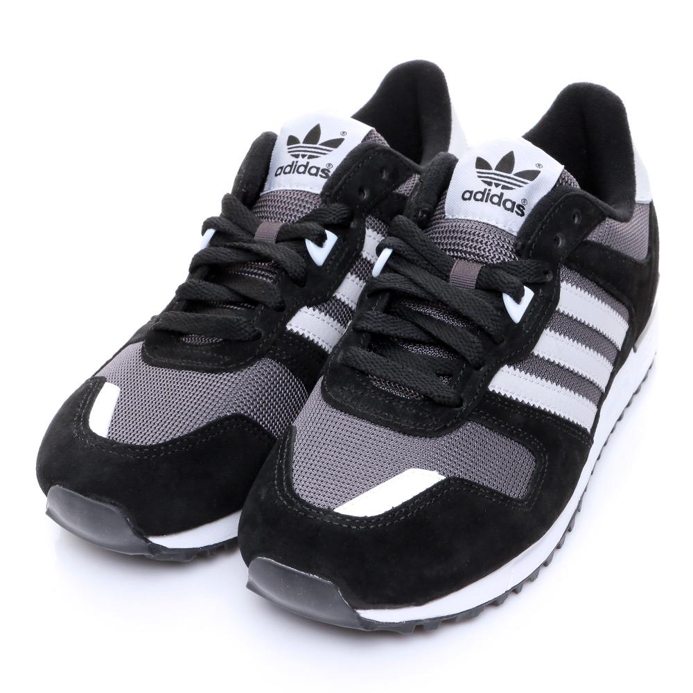 ADIDAS-ZX 700 女休閒鞋-黑灰