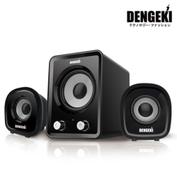 【福利品】DENGEKI 電擊2.1聲道USB多媒體喇叭(SK-827)