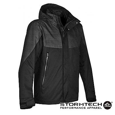【加拿大STORMTECH】RFX-2 時尚機能質感防水防風外層外套-男-黑