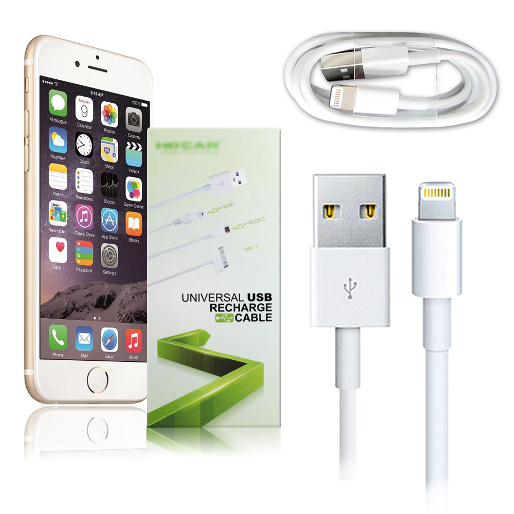 HOCAR iPhone 6 / 6 PLUS Lightning 傳輸充電線