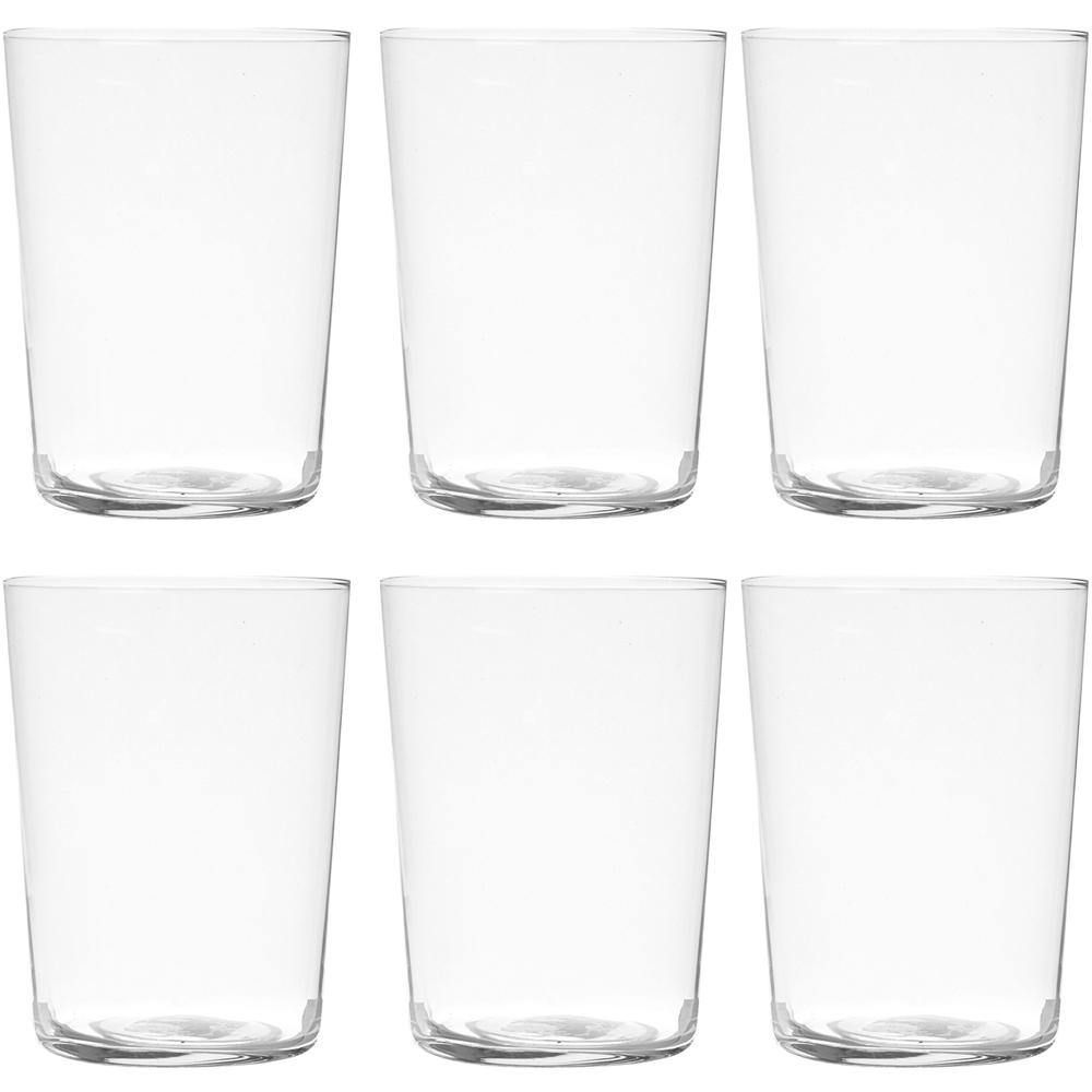 EXCELSA NY輕透玻璃杯6入(550ml)