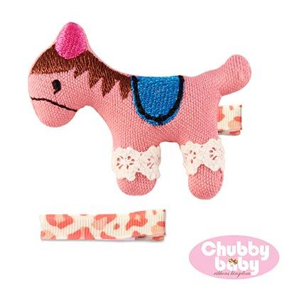 Chubby Baby巧比貝比 兒童寶寶髮夾Pony(A)