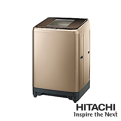HITACHI日立 24KG 變頻自動槽洗淨洗衣機 SF240XWV(CH)香檳金