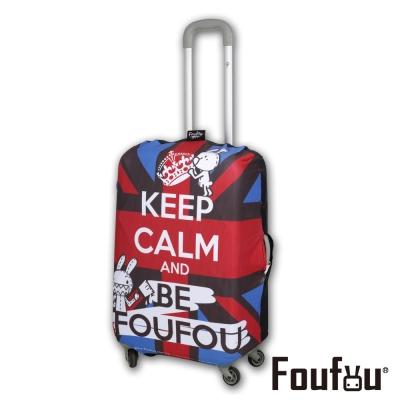 Foufou-繽紛行李箱套v-2-3款-S