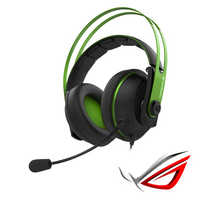 ASUS Cerberus V2 賽伯洛斯電競耳機麥克風-綠