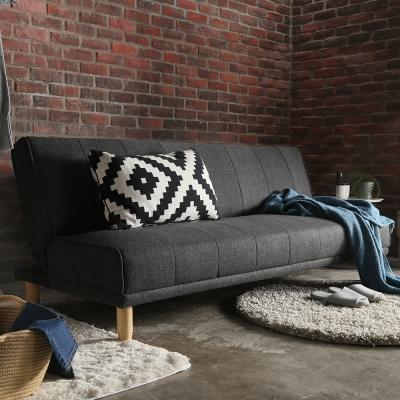 H&D FORD弗德日式簡約機能三段布質沙發床-三色可選