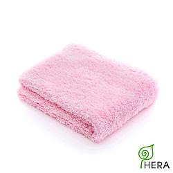 HERA 3M專利瞬吸快乾抗菌超柔纖-毛巾-櫻花粉