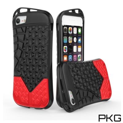 PKG  Apple IPhone 7/8 Plus 抗震防護手機殼套-運動系列