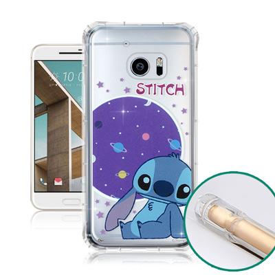 迪士尼授權正版 HTC 10 / M10 空壓安全手機殼(史迪奇)