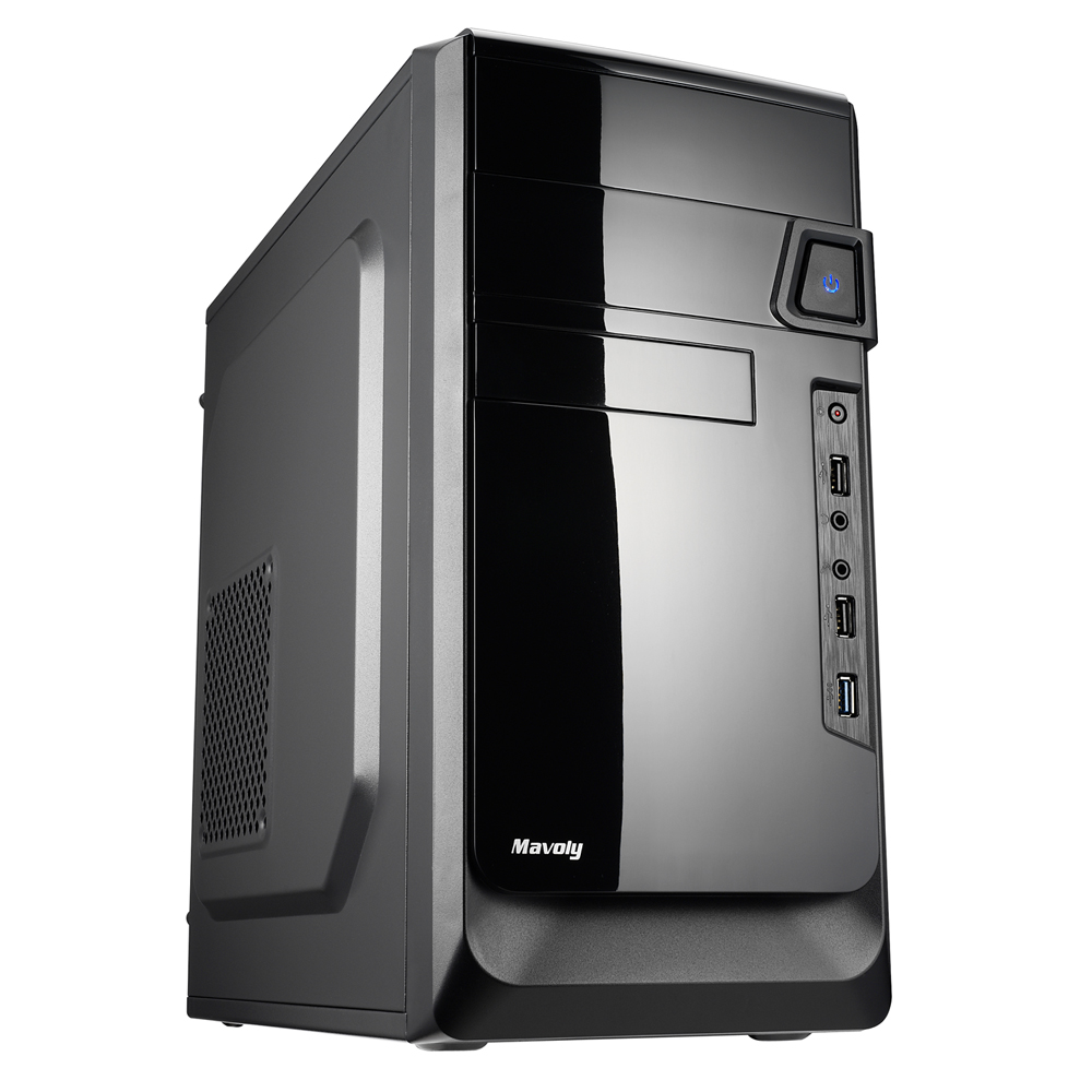 華碩H110平台【假面鬥龍-GT710獨顯版】i3雙核8G/1T燒錄效能電腦