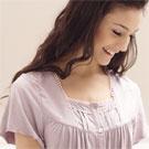 【羅絲美】古韻物語甜美短袖褲裝睡衣 (優雅紫)