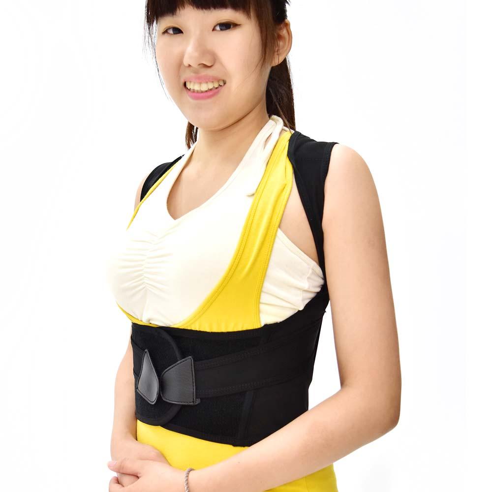 X型挺胸防駝護具(護腰+挺背)-急速配