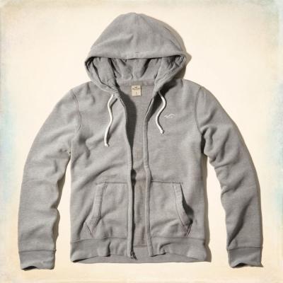 Hollister HCO 長袖 外套 灰色 0260