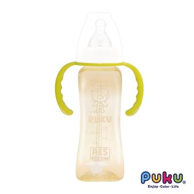 PUKU實感標準PES吸管練習奶瓶-270ml