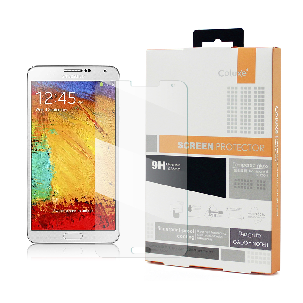 Coluxe SAMSUNG Galaxy Note3鋼化0.38mm玻璃防爆保護貼
