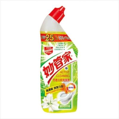 妙管家-芳香浴廁清潔劑(香水百合)750g