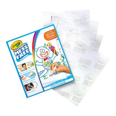 美國 Crayola繪兒樂 神彩空白畫冊30頁(3Y+)