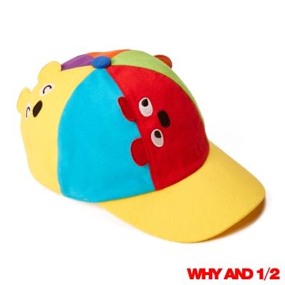WHY AND 1/2 mini 可愛普普熊表情棒球帽 紅色