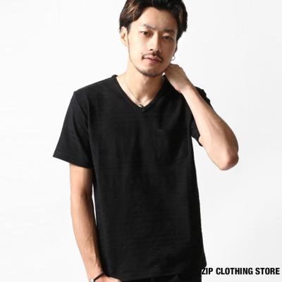 抗菌機能短袖T恤-ZIP日本男裝