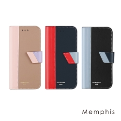 JTL iPhone 7 Plus Memphis 設計師款側掀皮套