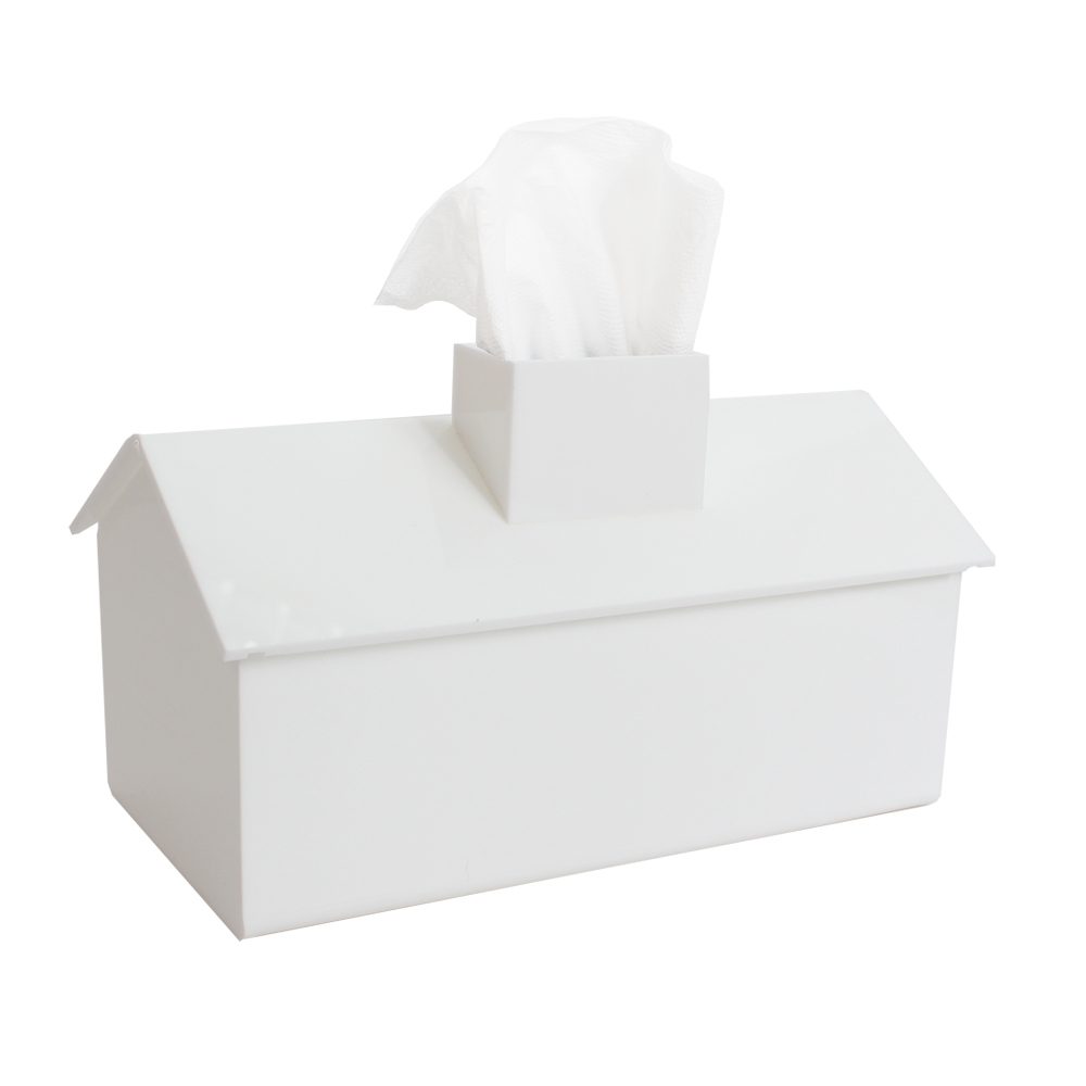 【Lovel】加拿大設計經典家飾-面紙盒/紙巾盒(貝殼白)