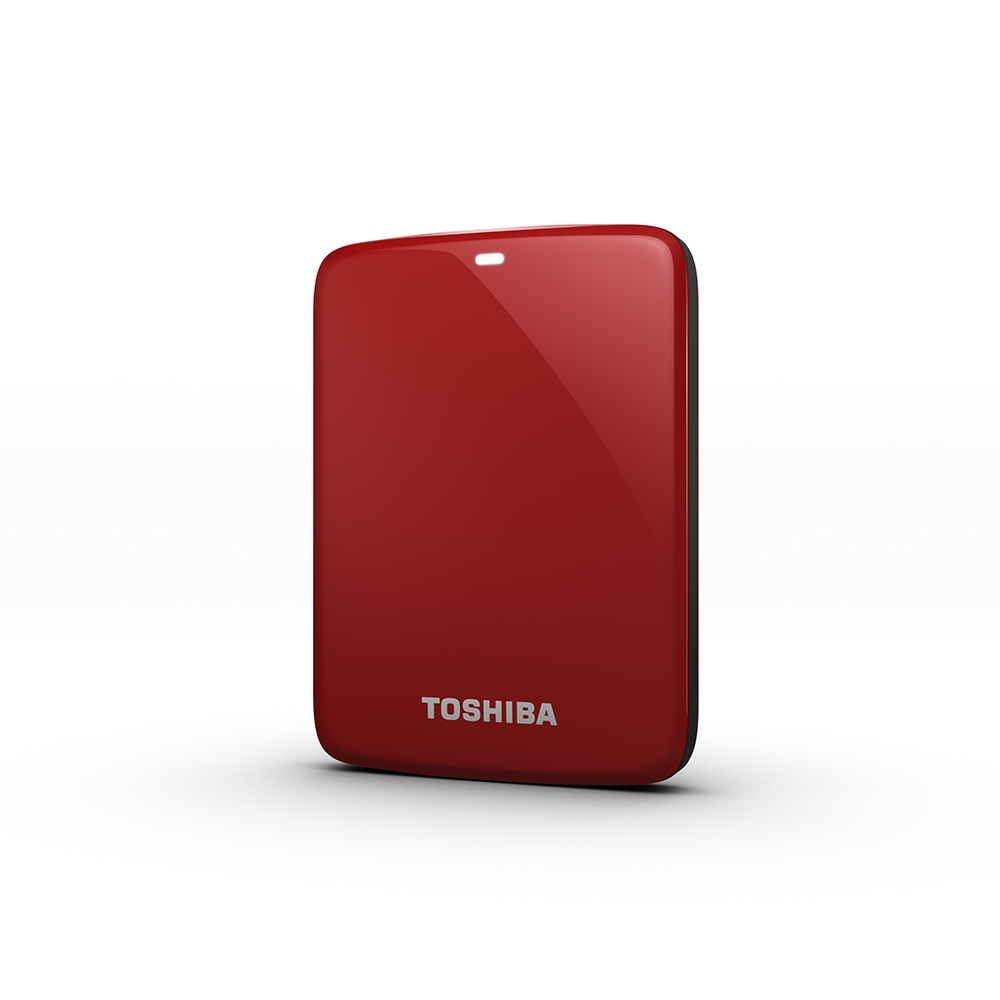 TOSHIBA 1TB Canvio Connect V7 2.5吋 行動硬碟