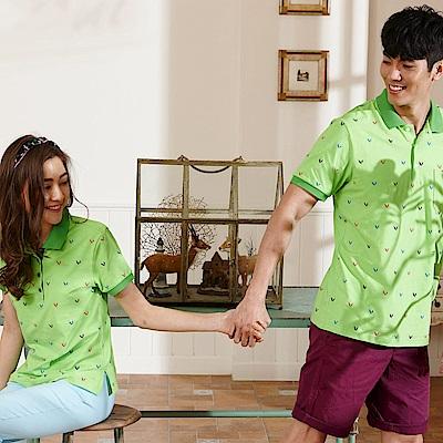 LEIDOOE品牌印花女款休閒短袖POLO衫16665