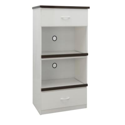 品家居 艾菲2.2尺環保塑鋼二抽餐櫃(二色可選)-66x43x124cm免組