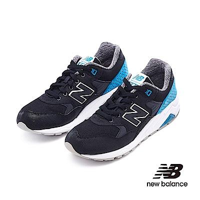 New Balance 580復古鞋MRT580MN中性黑色